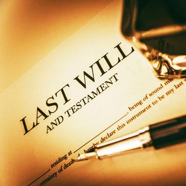 Wills, Probate & Estate Litigation